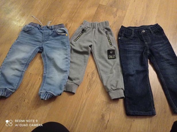 Zestaw spodni 86/92 dla chłopca