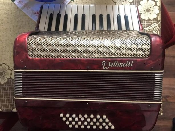Akordeon weltmeister lata 60-te