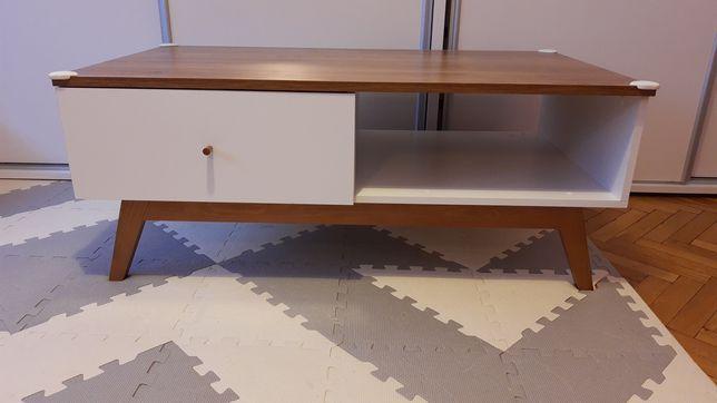 Ława/stolik kawowy z szufladą i półką
