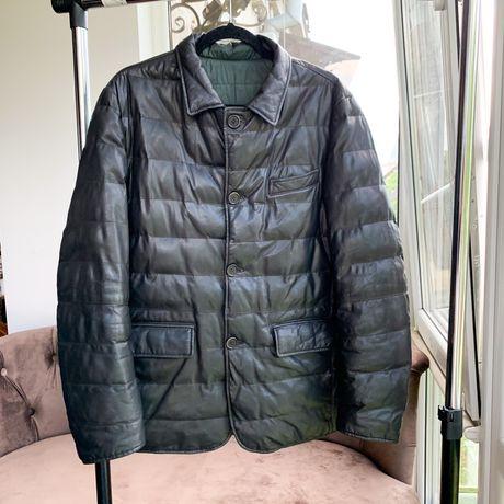 Шкірянка AD UNUM REVERSIBLE Leather Jacket Hugo Boss Belstaff APC