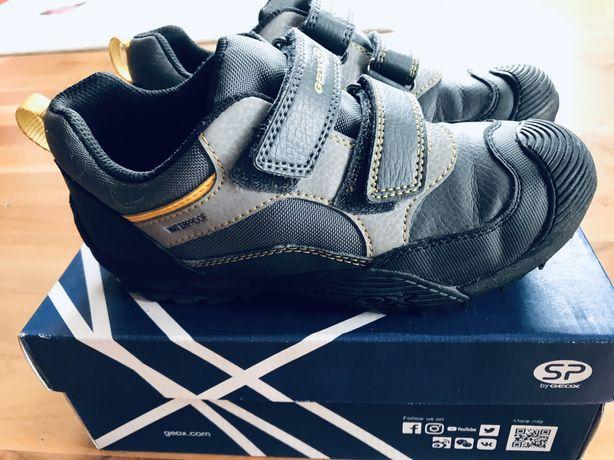 Buty Geox - z ocieplaną filcową wyściółką