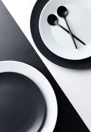 Moderno serviço de jantar 19 pçs em porcelana
