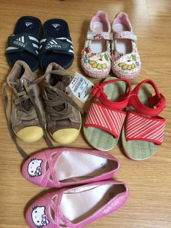 sapatos/Sandalias/tenis/chinelos natação nº29 alguns novos