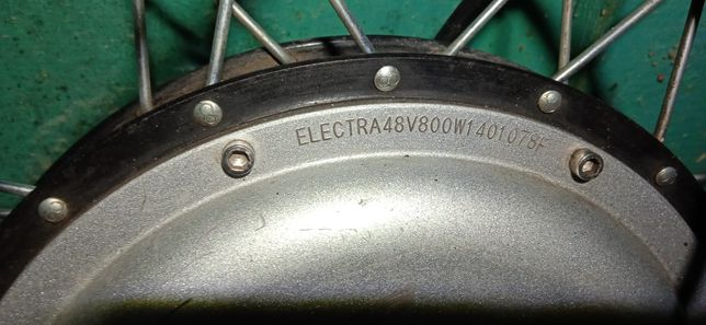Мотор колесо  800 ват електронабор