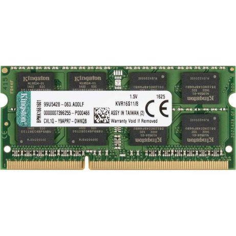 Пам'ять Kingston 8 GB SO-DIMM DDR3 1600 MHz (KVR16S11/8)