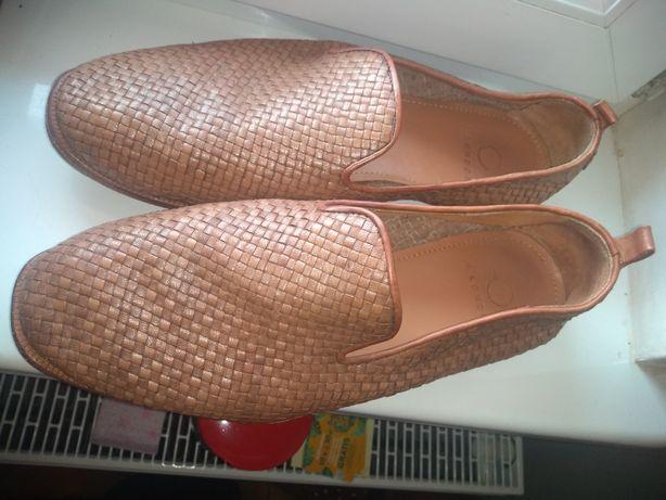 Buty męskie Hudson London całe ze skóry naturalnej