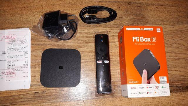 Mi box s 4K Xiaomi