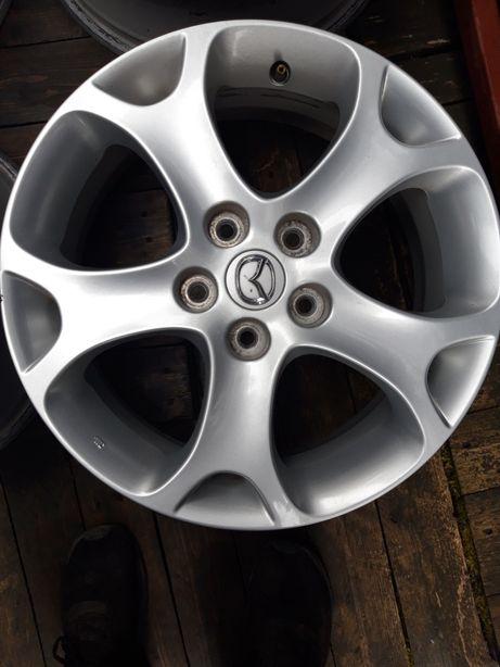 Felgi Aluminiowe Alusy R 17 ORYGINAŁ MAZDA 5X114.3