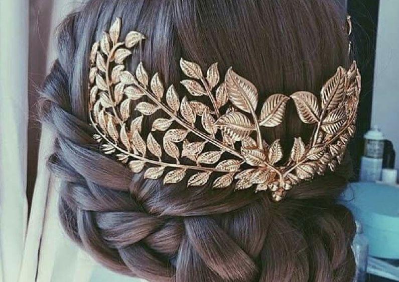 Украшение для волос, корона, деадема Константиновка - изображение 1