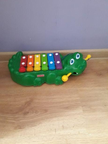 Cymbałki Fisher Price Krokodyl