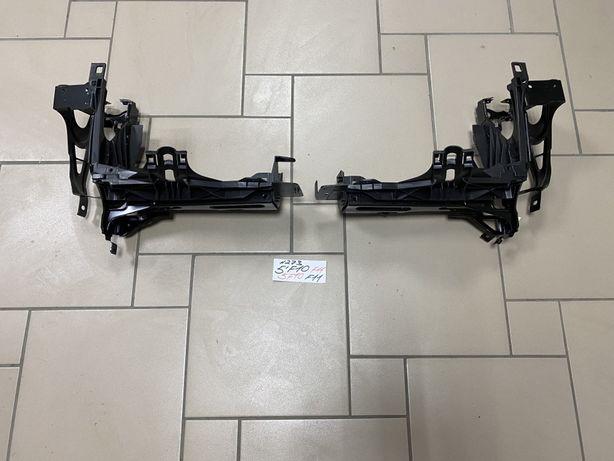 BMW 5 F10/F11 кронштейн фари/кріплення фар бмв 5 ф10/ф11 7200793/794