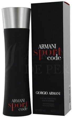 Armani Code Sport. Perfumy męskie. EDT. 125ml. ZAMÓW JUŻ DZIŚ