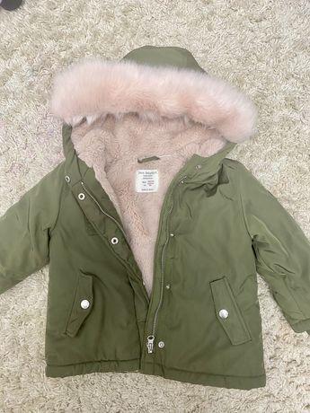 Продам куртку- парку фірми zara