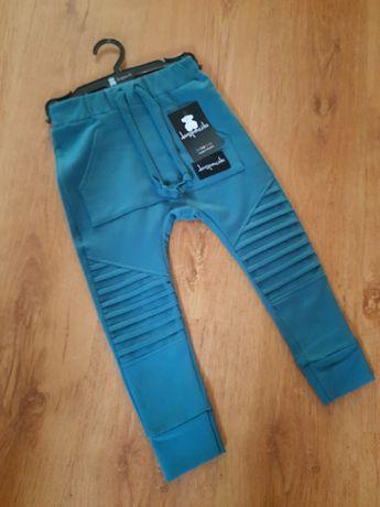 Mega WYPRZEDAŻ. Spodnie despacito 104 morskie