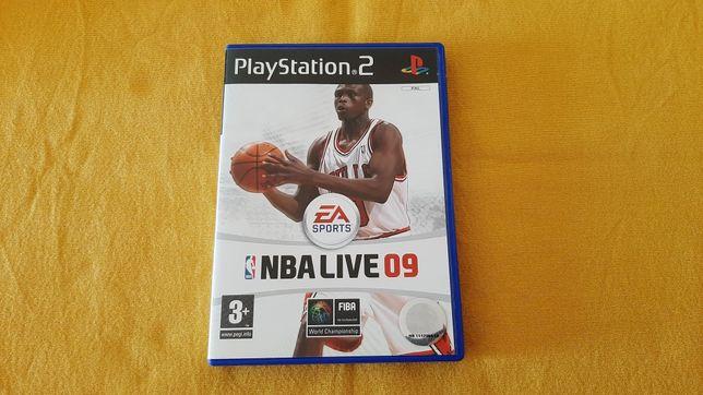 NBA Live 09 - jogo Playstation 2