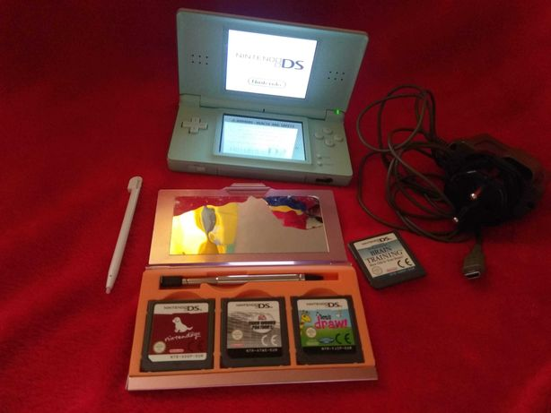 Konsola  Nintendo  DS LITE USG-001- Ice Blue