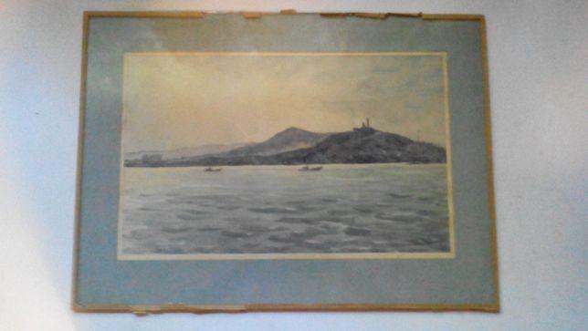 Кац Илья Львович (1908-1992гг) Гора Митридат Крым 1986г.