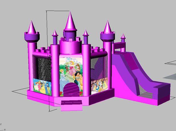 Insuflável Castelo das Princesas