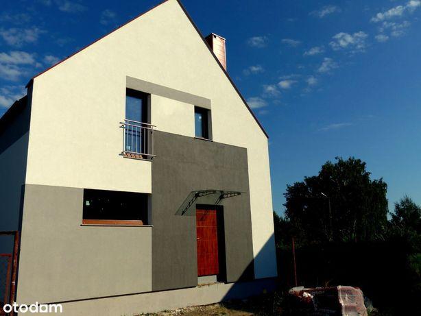 Nowoczesny dom wolnostojący 93 m2, 5 pokoi.