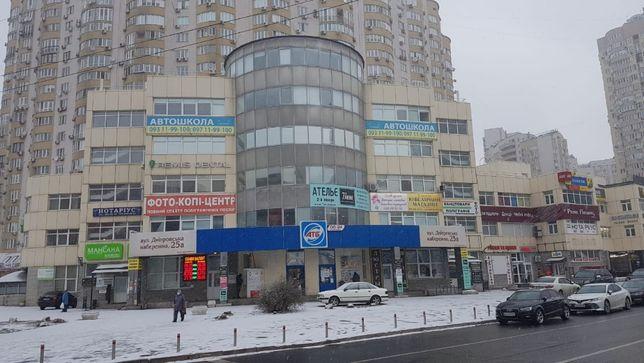 Фасад!Уютный офис 45м2 на Днепровской набережной,Ахматовой!м,Позняки
