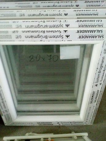 Sprzedam okno nowe wys. 80 x 70 uchylno- rozwierne . BARDZO TANIO.
