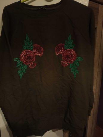 Bluza damska khaki