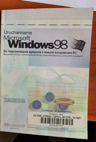 Instrukcja obsługi uruchamianie WINDOWS 98