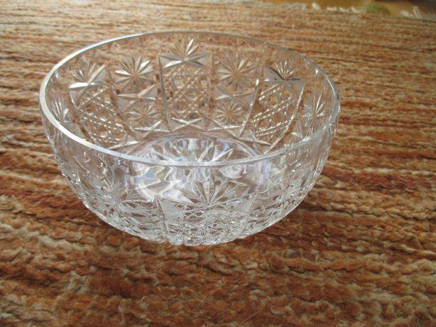 kryształy misa kryształowa na owoce/cukierki