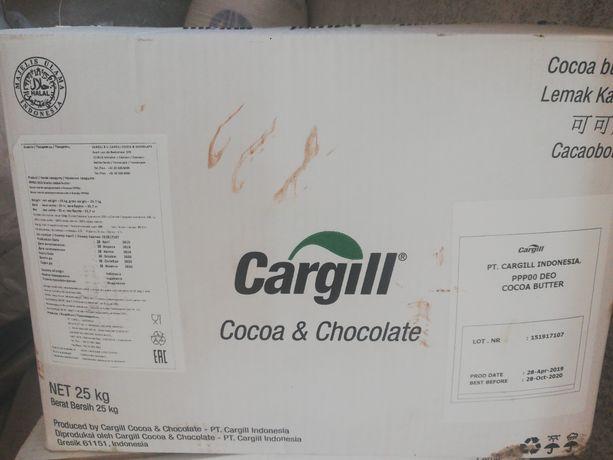 Какао масло Сargill