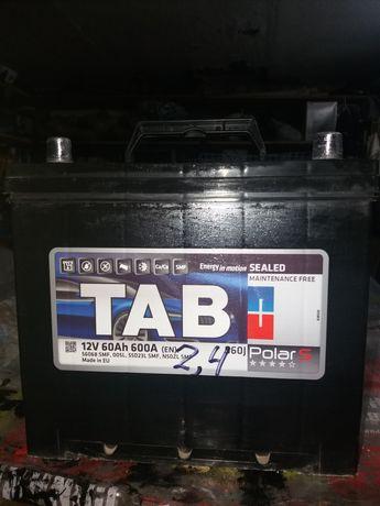 Аккумулятор TAB Polar S Japan 60Ah пусковой ток  600A (Евро -