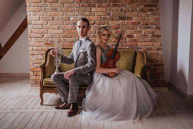 Profesjonalna oprawa muzyczna skrzypce trąbka duet trio na ślub wesele