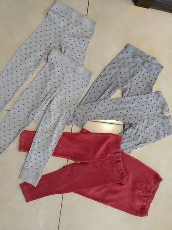 Spodnie dla bliźniaczek bliźniaczki