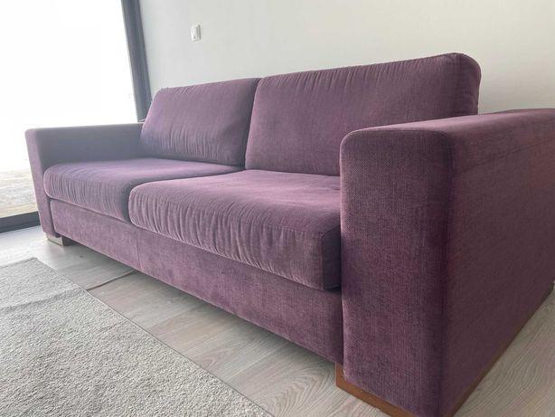 Sofa 3 lugares  com pouco uso
