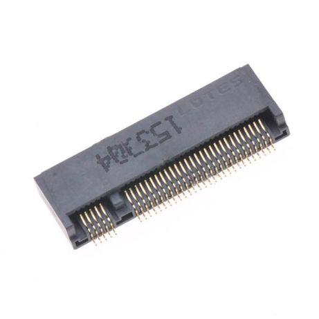 SSD M.2 Разъём NGFF 67Pin ключ B высота 3,2 мм