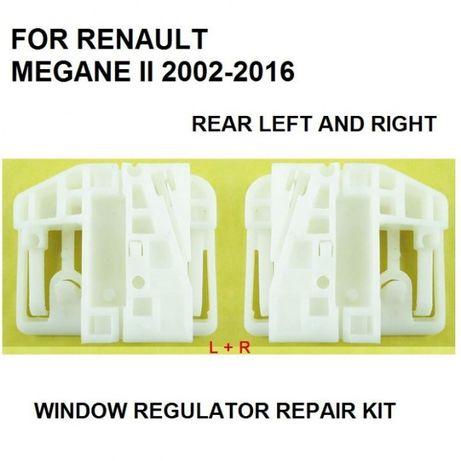 Clips reparação elevador dos vidros traseiro Renault Megane 2