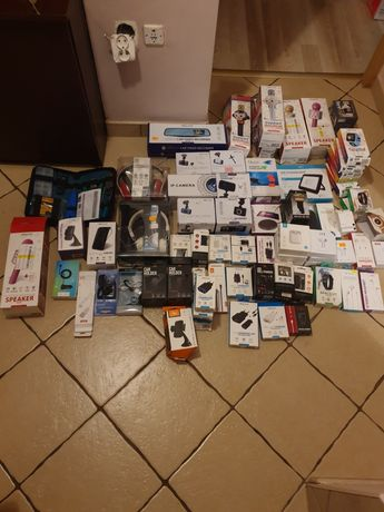 Mix elektroniki 115 sztuk klasa ABC paleta box