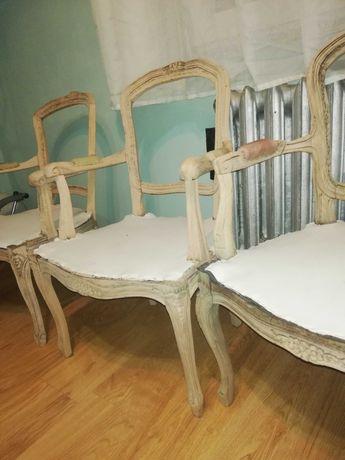 Krzesła ludwik 16