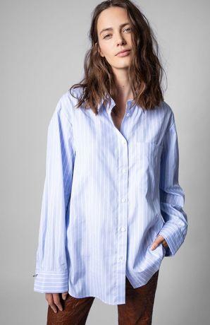 Полосатая рубашка Zadig & Voltaire