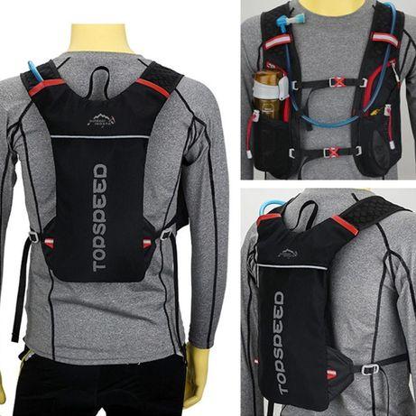 Беговой рюкзак гидратор велорюкзак Inoxto Topspeed для бега 2 3 литра