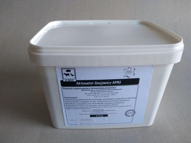 Aktywator gnojowicy i zapachu AMU Procompost Lisier. Zamiast mieszadła