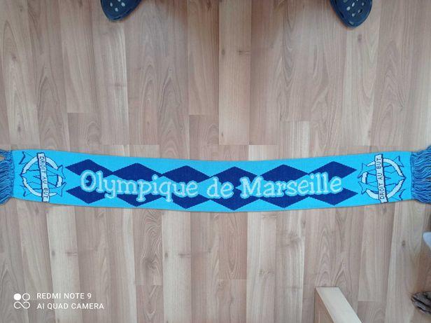 Cachecol original Liverpool e Olympique Marseille