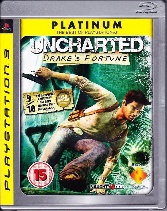 Jogo Playstation 3 Uncharted Drake's Fortune Praia da Vitória (Santa Cruz) - imagem 1