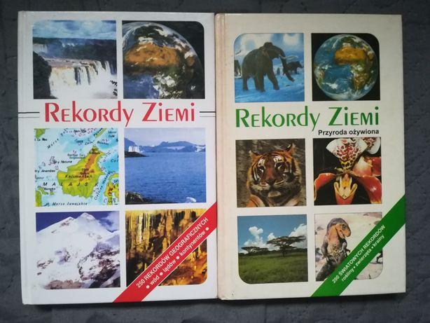 """Albumy """"Rekordy Ziemi"""" - 2 tomy - cena za komplet"""