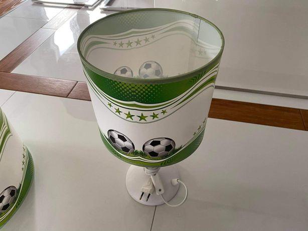 Zestaw 2 Lamp z piłką dla chłopca
