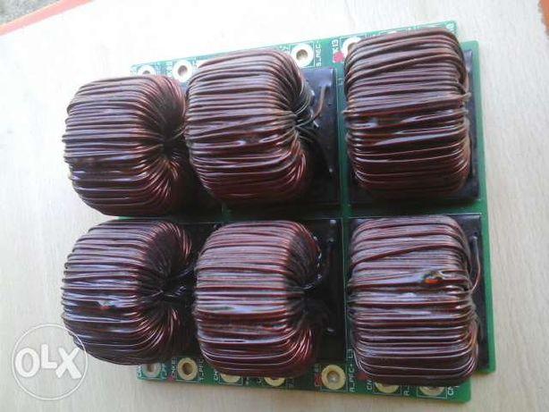 bobines de cobre (shock ) como novas e com pcb eram de ups