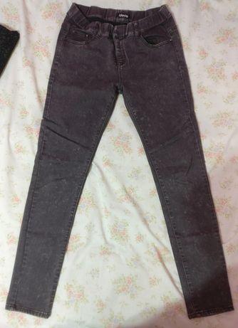 Spodnie jeansowe jeansy szare