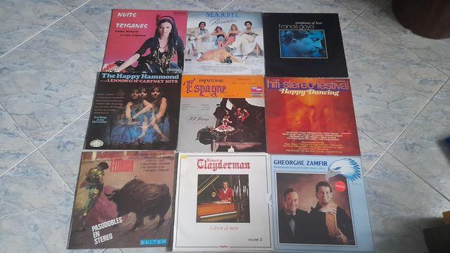 Varios LP s vinil bem conservados,James last,Paul mauriat, Richard CLa