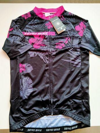 Koszulka rowerowa, kolarska ZERO BIKE damska M