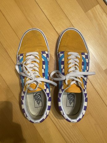 Jak NOWE buty Vans Old school kratka żółte Rozmiar 42,5/9.5