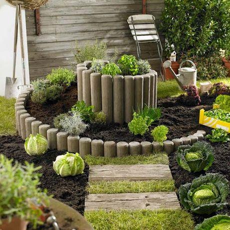 Благоустройство декоративных огородов